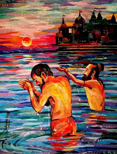 Dr. Yatindra Mahobe in Art and Artist