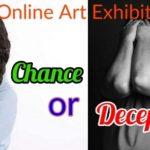 ऑनलाइन कला प्रदर्शनी